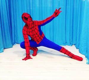 человек паук на детский праздник фото