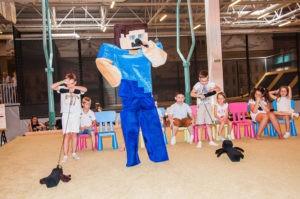 детский праздник фото майнкрафт