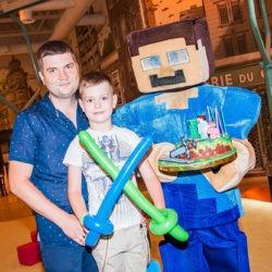 Minecraft на детский праздник фото