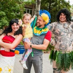 моана и мауи на детский праздник фото