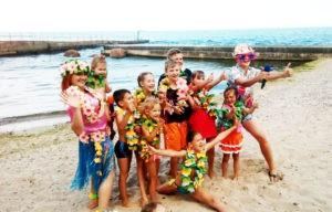 гавайская вечеринка картинка