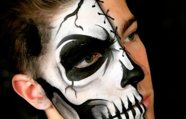 Аквагрим на Хеллоуин